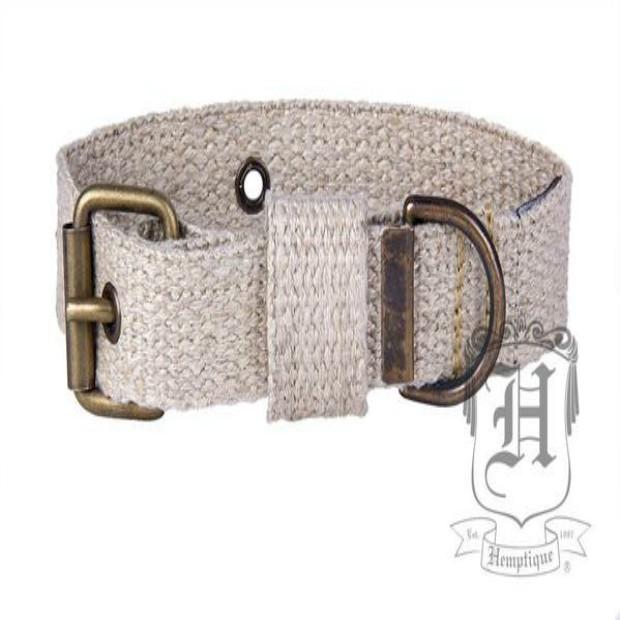 100 % HEMP Dog Collar-SMALL