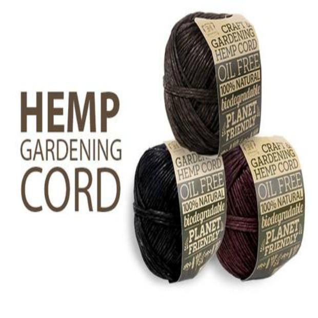 100 % Hemp Gardening Cord-Natural Color