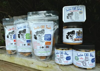 CBD dog treats - Trinity Pharms Hemp Co. - Asheville, NC