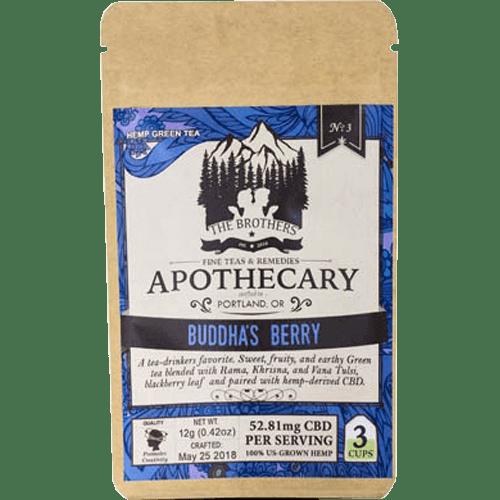 Brothers Apothecary CBD Tea-Buddah's Berry