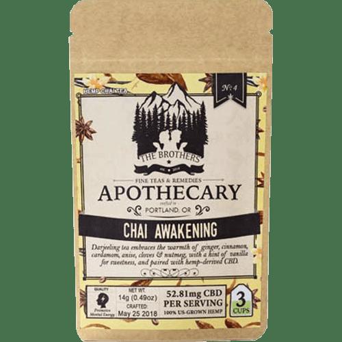 Brothers Apothecary CBD Tea-Chai Awakening