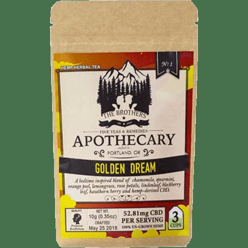 Brothers Apothecary CBD Tea-Golden Dream