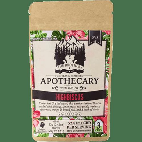 Brothers Apothecary CBD Tea-Highbiscus