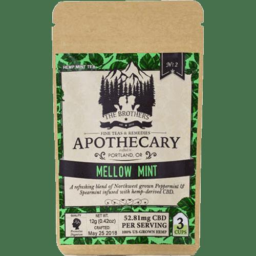 Brothers Apothecary CBD Tea-Mellow Mint