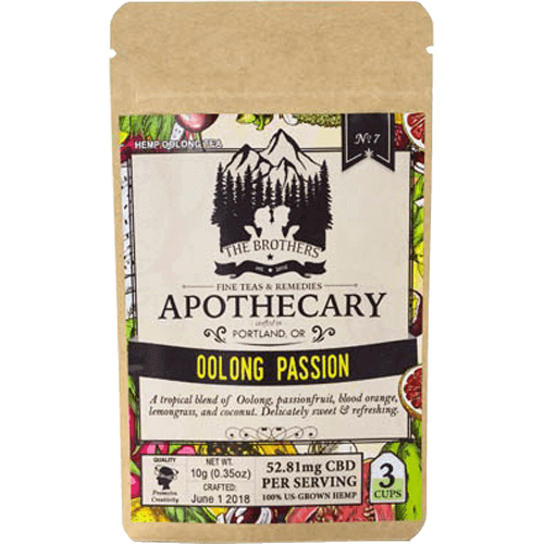 Brothers Apothecary CBD Tea-Oolong Passion