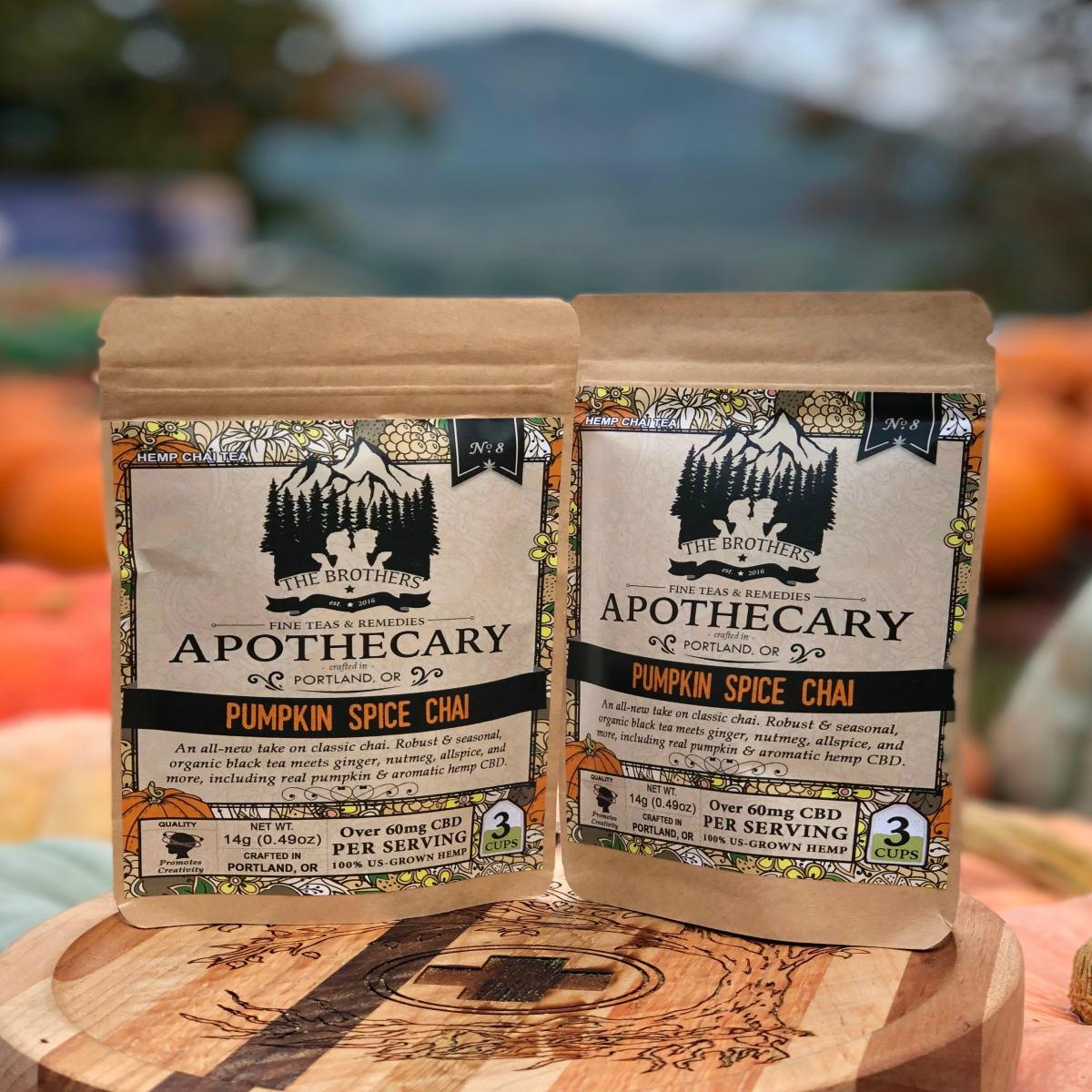 Brothers Apothecary CBD Tea-Pumpkin Spice