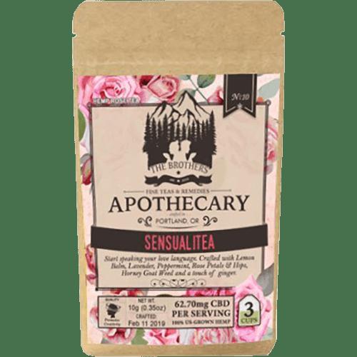 Brothers Apothecary CBD Tea-Sensualitea
