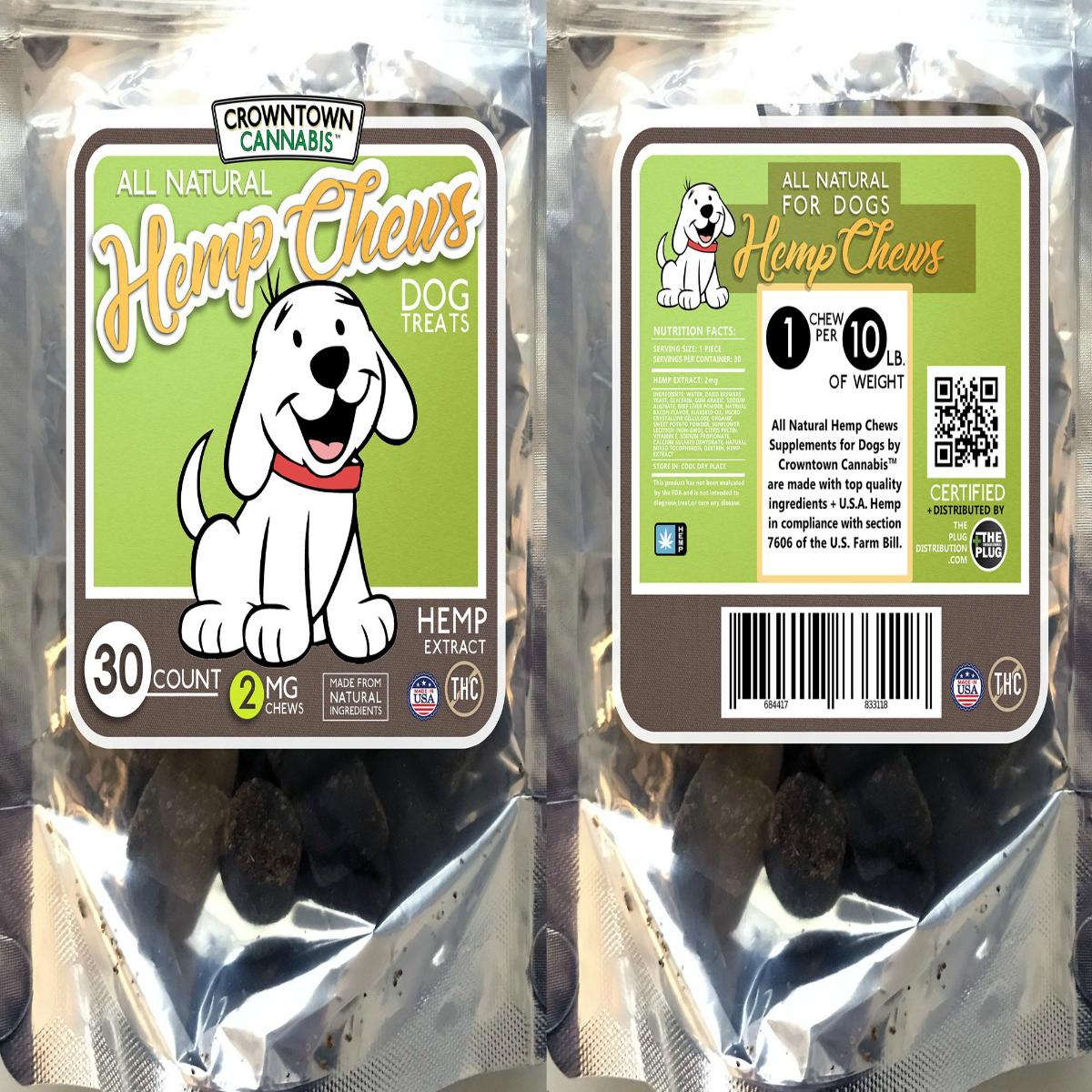 Crowntown Cannabis Pet Chews