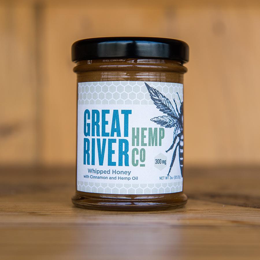 Great River Hemp-Cinnamon Honey