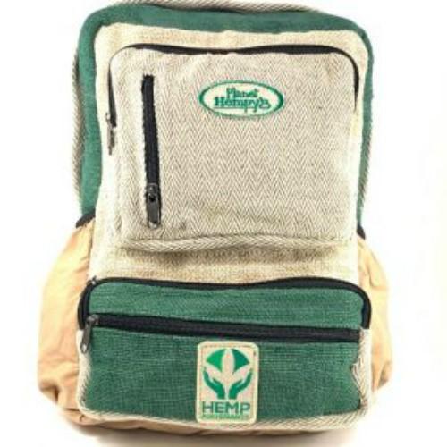 Hemp Green Traveler Backpack