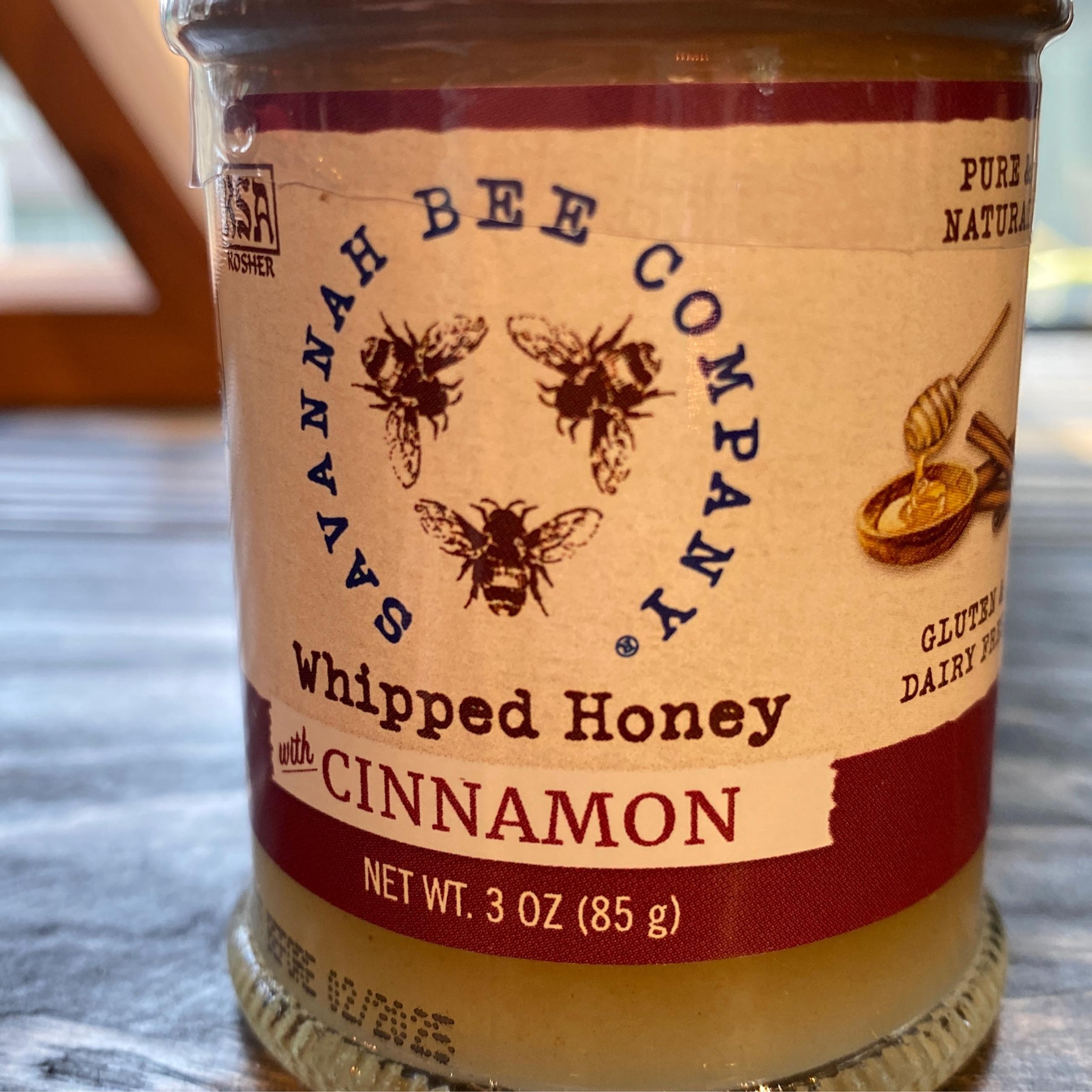 Savannah Bee Company Whipped Cinnamon Honey
