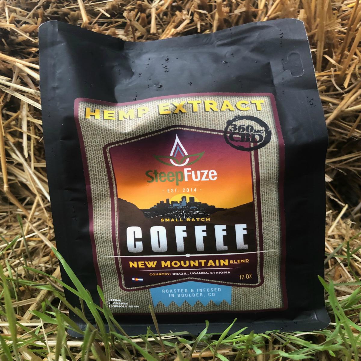 Steep Fuze CBD Coffee New Mountain
