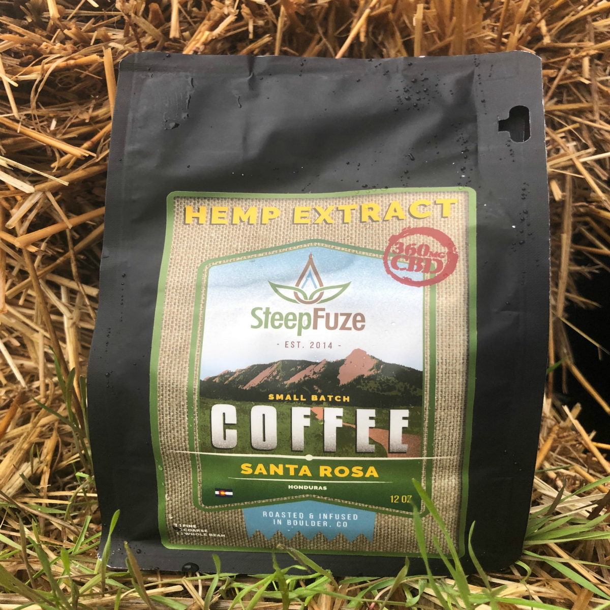 Steep Fuze CBD Coffee Santa Rosa