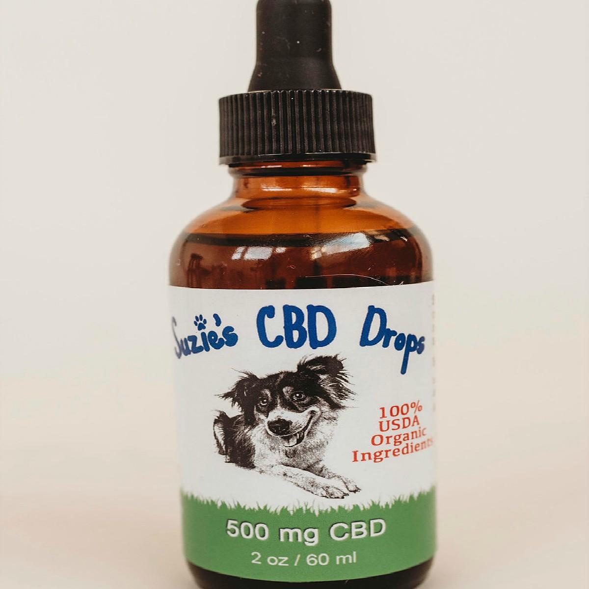 Suzie's ORGANIC CBD Pet Drops 500 mg