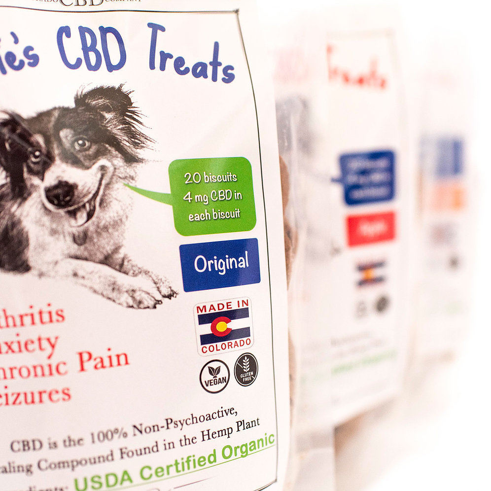 Suzie's ORGANIC CBD Pet Treats-Original