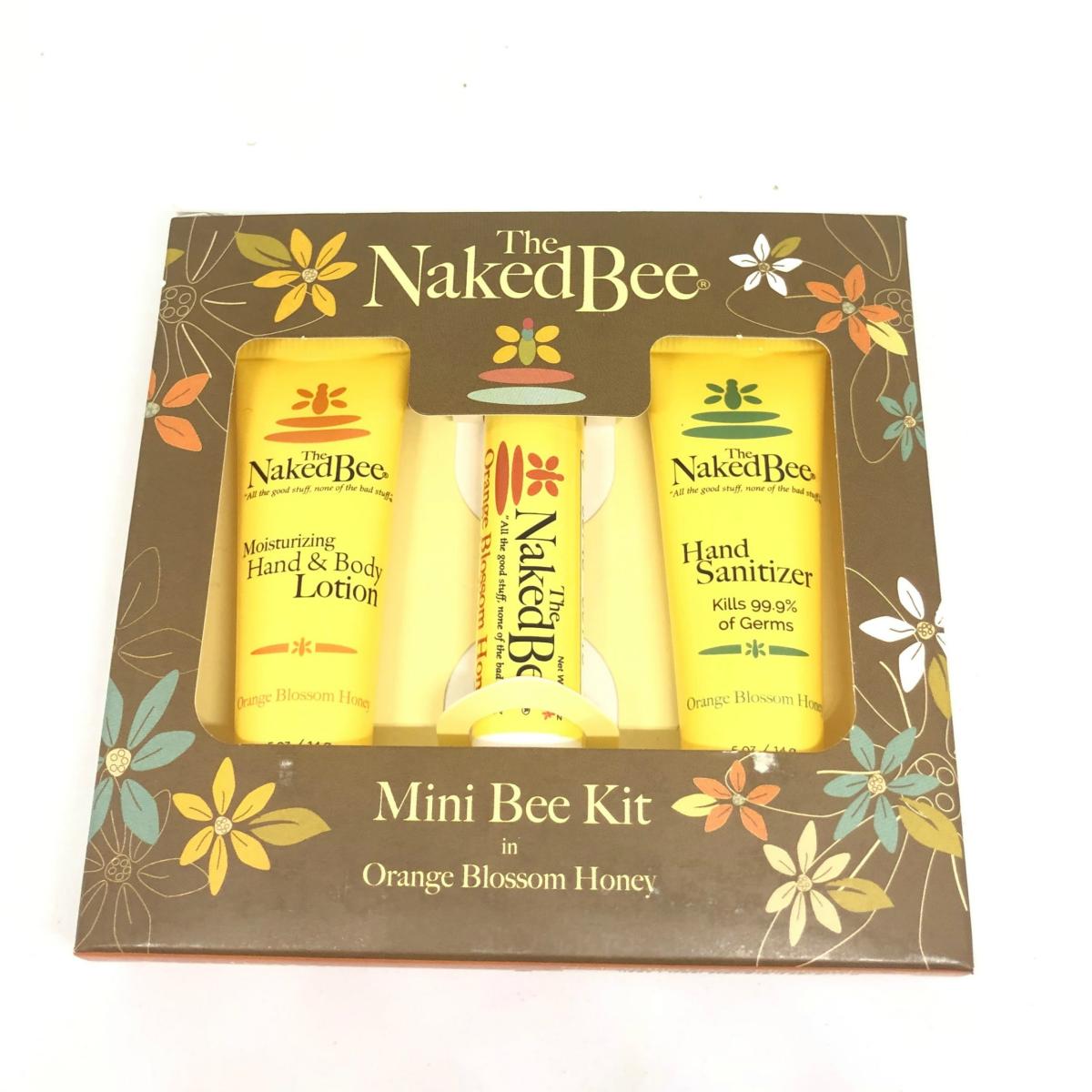 The Naked Bee Mini Bee Kit-Orange Blossom