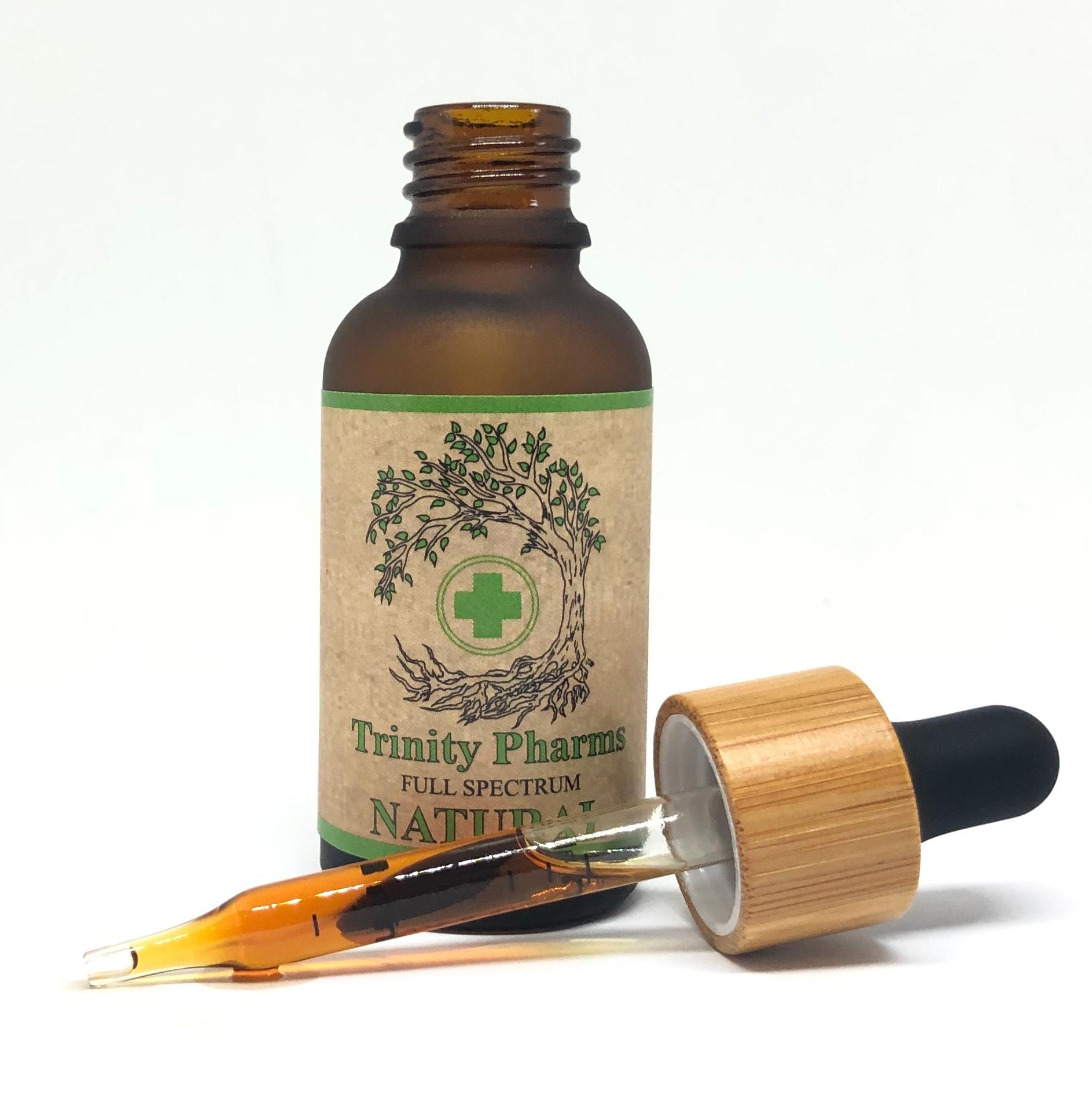 Trinity Pharms Full Spectrum CBD Oil-Natural Flavor