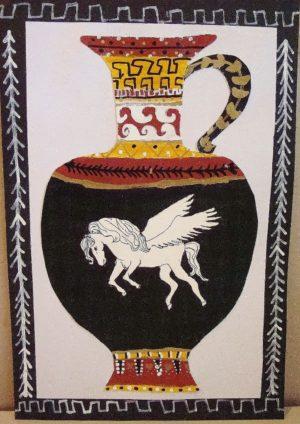 Greek Pottery 9-12 years