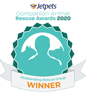 JetPets Rescue Awards Outstanding Rescue Group Winner 2020