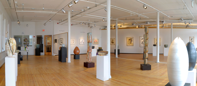 The Rebecca Lawrence Gallery Entry and The Clifford B. West Gallery