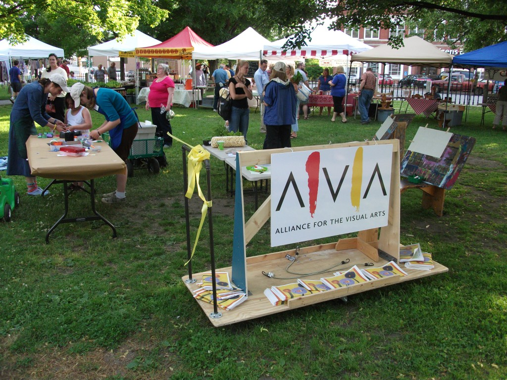 Farmers' Market 2010 3 with AVA sign