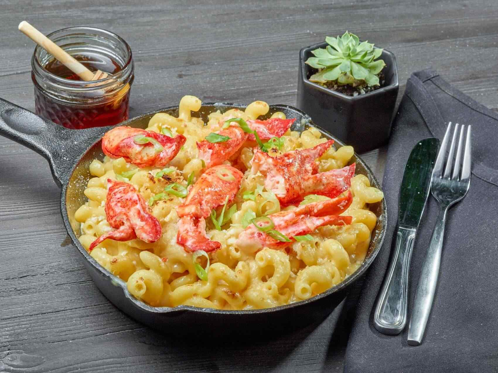Truffle Lobster Mac and Cheese