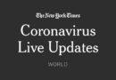 Coronavirus World Updates – The New York Times