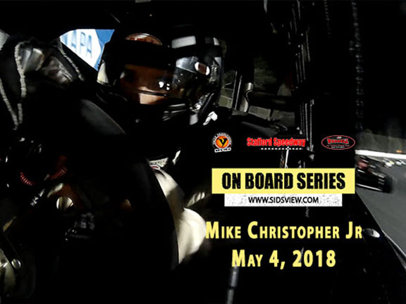 On Board Series – Mike Christopher Jr 5-4-18