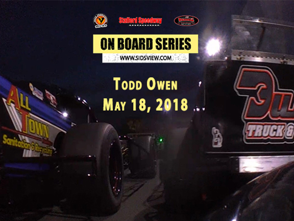 On Board Series – Todd Owen 5.18.18