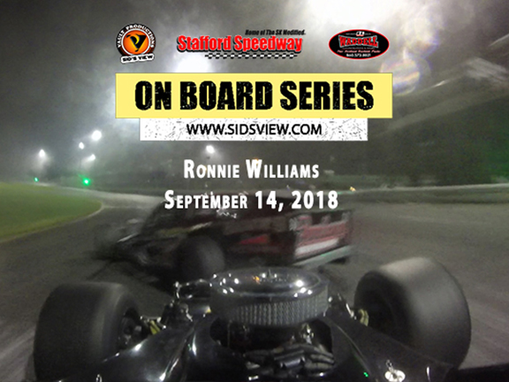 On Board Series – Ronnie Williams 9.14.18