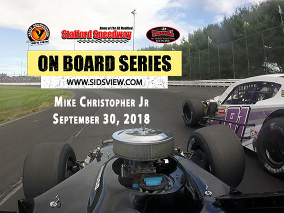 On Board Series – Mike Christopher Jr 9.30.18