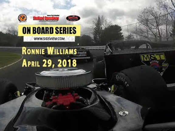 On Board Series – Ronnie Williams 4.29.18