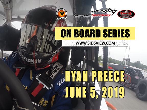 On Board Series – Ryan Preece 06-05-19