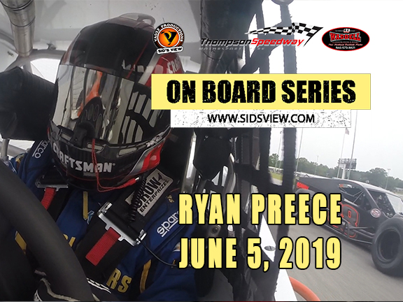 On Board Series – Ryan Preece 06-05-19