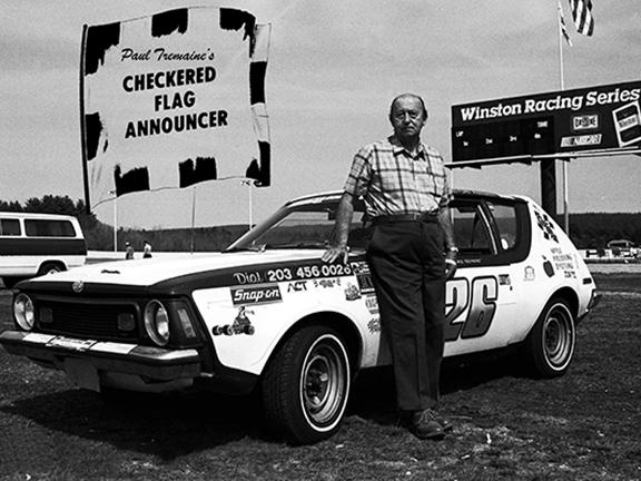 Speedbowl Doc Shorts – Paul Tremaine's Checkered Flag Announcer