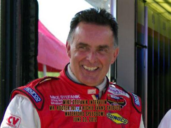 Mike Stefanik Interview – Waterford Speedbowl June 23, 2012