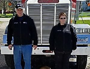 Truck Driver Jerry with Wife