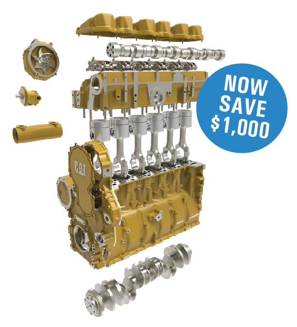 Long Block Cat Engine