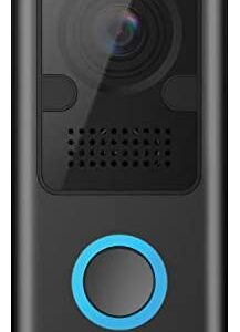 Amcrest 1080P Video Doorbell Camera Pro, Outdoor Smart Home 2.4GHz Wireless WiFi Doorbell Camera w/Micro SD Card, PIR Motion Detector, RTSP, IP55 Weatherproof, 2-Way Audio, 140º Wide-Angle Wi-Fi AD110