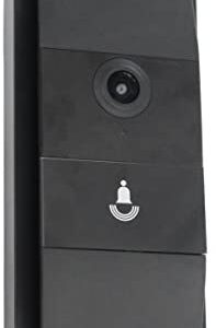 CTA Digital LT-Bell Wireless Smart Doorbell with 720P HD Video for iOS/Android Black