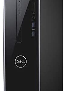 Dell Inspiron 3470 Desktop, 2 Year Onsite Service after remote diagnosis, 9th Gen Intel Core i5-9400 6-Core 4.1GHz Proc w/Intel Turbo Boost, 12GB DDR4 RAM, 1TB HDD+128GB SSD, DVD RW, Windows 10 Pro