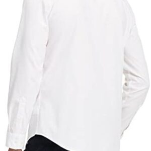 Calvin Klein Men's Long Sleeve Button Down Solid Shirt