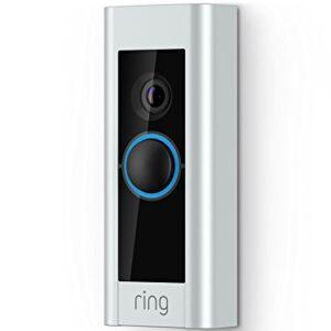 Certified Refurbished Ring Video Doorbell Pro, Works with Alexa (existing doorbell wiring required)