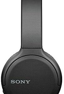 Sony Wireless Headphones WH-CH510: Wireless Bluetooth On-Ear Headset with Mic for phone-call, Black
