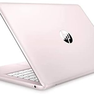 (Renewed) Newest HP Stream 14 inches HD (1366×768) Display, Intel Celeron N4000 Dual-Core Processor, 4GB RAM, 32GB eMMC, HDMI, WiFi, Webcam, Bluetooth, Win10 S, Rose Pink