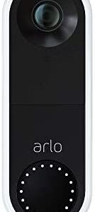 Arlo Video Doorbell | HD Video Quality, 2-Way Audio, Package Detection | Motion Detection and Alerts | Built-in Siren | Night Vision | Easy Installation (Existing Doorbell Wiring Required) | (AVD1001)