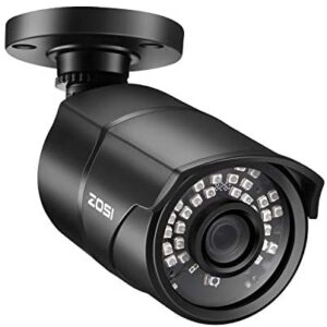 ZOSI 2.0MP HD 1080p 1920TVL Security Camera Outdoor Indoor (Hybrid 4-in-1 HD-CVI/TVI/AHD/960H Analog CVBS),36PCS LEDs,120ft Night Vision, 90° View Angle, Weatherproof Surveillance CCTV Bullet Camera