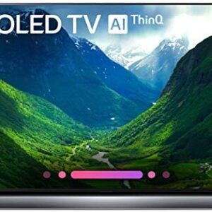 LG Electronics OLED55C8P 55-Inch 4K Ultra HD Smart OLED TV (2018 Model)