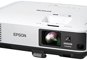 Epson PowerLite 2255U Wireless Full HD Wuxga 3LCD Projector, 1920×1200, 5000 Lumens