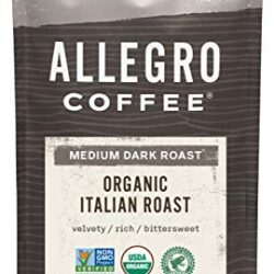 Allegro Coffee, Organic, Italian Roast, Whole Bean, 12 oz